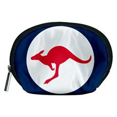 Roundel Of The Australian Air Force Accessory Pouches (medium)  by abbeyz71