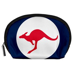 Roundel Of The Australian Air Force Accessory Pouches (large)  by abbeyz71