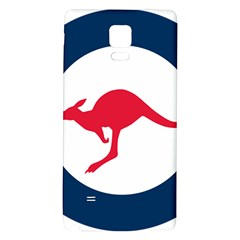 Roundel Of The Australian Air Force Galaxy Note 4 Back Case by abbeyz71