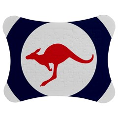 Roundel Of The Australian Air Force Jigsaw Puzzle Photo Stand (bow) by abbeyz71