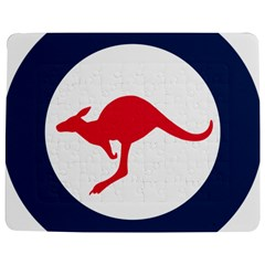 Roundel Of The Australian Air Force Jigsaw Puzzle Photo Stand (rectangular) by abbeyz71