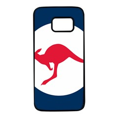 Roundel Of The Australian Air Force Samsung Galaxy S7 Black Seamless Case by abbeyz71