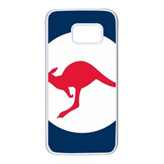 Roundel Of The Australian Air Force Samsung Galaxy S7 White Seamless Case by abbeyz71