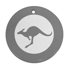Low Visibility Roundel Of The Australian Air Force Ornament (round) by abbeyz71