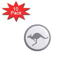 Low Visibility Roundel Of The Australian Air Force 1  Mini Magnet (10 Pack)  by abbeyz71