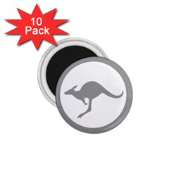 Low Visibility Roundel Of The Australian Air Force 1 75  Magnets (10 Pack)  by abbeyz71