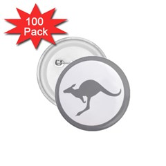 Low Visibility Roundel Of The Australian Air Force 1 75  Buttons (100 Pack)  by abbeyz71
