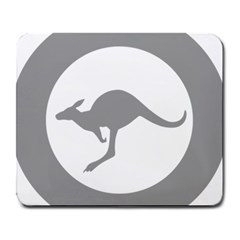 Low Visibility Roundel Of The Australian Air Force Large Mousepads by abbeyz71