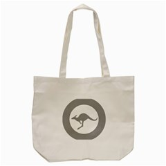 Low Visibility Roundel Of The Australian Air Force Tote Bag (cream) by abbeyz71