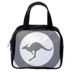 Low Visibility Roundel Of The Australian Air Force Classic Handbags (one Side) by abbeyz71