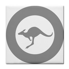 Low Visibility Roundel Of The Australian Air Force Face Towel by abbeyz71