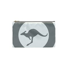 Low Visibility Roundel Of The Australian Air Force Cosmetic Bag (small)  by abbeyz71