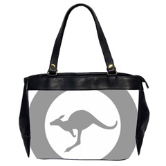 Low Visibility Roundel Of The Australian Air Force Office Handbags (2 Sides)  by abbeyz71