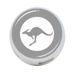 Low Visibility Roundel Of The Australian Air Force 4 Port Usb Hub (two Sides)  by abbeyz71