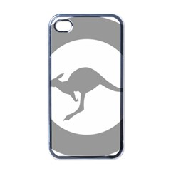 Low Visibility Roundel Of The Australian Air Force Apple Iphone 4 Case (black) by abbeyz71