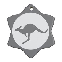 Low Visibility Roundel Of The Australian Air Force Ornament (snowflake) by abbeyz71