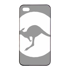 Low Visibility Roundel Of The Australian Air Force Apple Iphone 4/4s Seamless Case (black) by abbeyz71