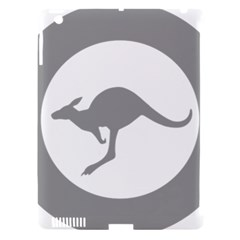 Low Visibility Roundel Of The Australian Air Force Apple Ipad 3/4 Hardshell Case (compatible With Smart Cover) by abbeyz71