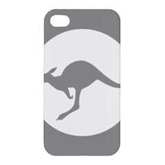 Low Visibility Roundel Of The Australian Air Force Apple Iphone 4/4s Premium Hardshell Case by abbeyz71