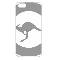 Low Visibility Roundel Of The Australian Air Force Apple Iphone 5 Seamless Case (white) by abbeyz71