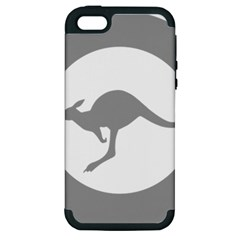 Low Visibility Roundel Of The Australian Air Force Apple Iphone 5 Hardshell Case (pc+silicone) by abbeyz71