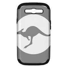 Low Visibility Roundel Of The Australian Air Force Samsung Galaxy S Iii Hardshell Case (pc+silicone) by abbeyz71