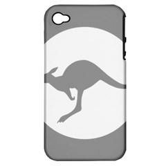 Low Visibility Roundel Of The Australian Air Force Apple Iphone 4/4s Hardshell Case (pc+silicone) by abbeyz71
