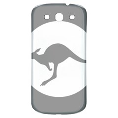 Low Visibility Roundel Of The Australian Air Force Samsung Galaxy S3 S Iii Classic Hardshell Back Case by abbeyz71