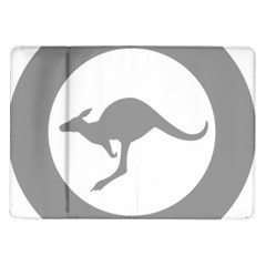 Low Visibility Roundel Of The Australian Air Force Samsung Galaxy Tab 10 1  P7500 Flip Case by abbeyz71