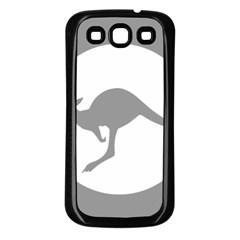 Low Visibility Roundel Of The Australian Air Force Samsung Galaxy S3 Back Case (black) by abbeyz71