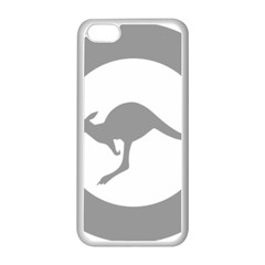 Low Visibility Roundel Of The Australian Air Force Apple Iphone 5c Seamless Case (white) by abbeyz71