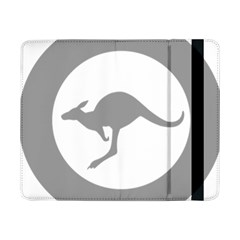 Low Visibility Roundel Of The Australian Air Force Samsung Galaxy Tab Pro 8 4  Flip Case by abbeyz71