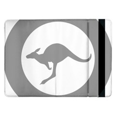 Low Visibility Roundel Of The Australian Air Force Samsung Galaxy Tab Pro 12 2  Flip Case by abbeyz71