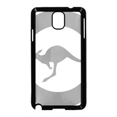 Low Visibility Roundel Of The Australian Air Force Samsung Galaxy Note 3 Neo Hardshell Case (black) by abbeyz71