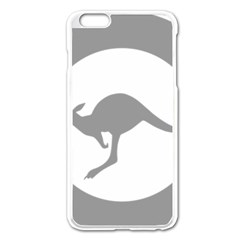 Low Visibility Roundel Of The Australian Air Force Apple Iphone 6 Plus/6s Plus Enamel White Case by abbeyz71