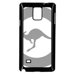 Low Visibility Roundel Of The Australian Air Force Samsung Galaxy Note 4 Case (black) by abbeyz71