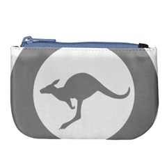 Low Visibility Roundel Of The Australian Air Force Large Coin Purse by abbeyz71