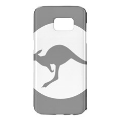 Low Visibility Roundel Of The Australian Air Force Samsung Galaxy S7 Edge Hardshell Case by abbeyz71