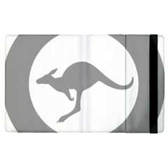 Low Visibility Roundel Of The Australian Air Force Apple Ipad Pro 9 7   Flip Case by abbeyz71