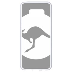 Low Visibility Roundel Of The Australian Air Force Samsung Galaxy S8 White Seamless Case by abbeyz71