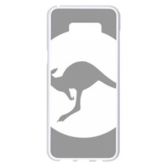 Low Visibility Roundel Of The Australian Air Force Samsung Galaxy S8 Plus White Seamless Case by abbeyz71