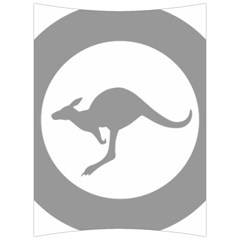 Low Visibility Roundel Of The Australian Air Force Back Support Cushion by abbeyz71