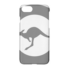 Low Visibility Roundel Of The Australian Air Force Apple Iphone 8 Hardshell Case by abbeyz71