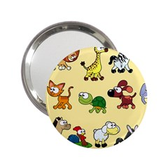 Group Of Animals Graphic 2 25  Handbag Mirrors by Sapixe