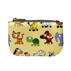 Group Of Animals Graphic Mini Coin Purses by Sapixe