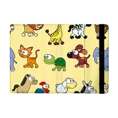 Group Of Animals Graphic Apple Ipad Mini Flip Case by Sapixe