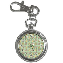 Hamster Pattern Key Chain Watches