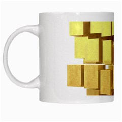 Gold Bars Feingold Bank White Mugs