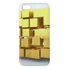 Gold Bars Feingold Bank Apple Iphone 5 Premium Hardshell Case