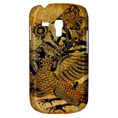 Golden Colorful The Beautiful Of Art Indonesian Batik Pattern Galaxy S3 Mini by Sapixe